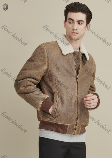 Epic Real Shearling Bomber jacket
