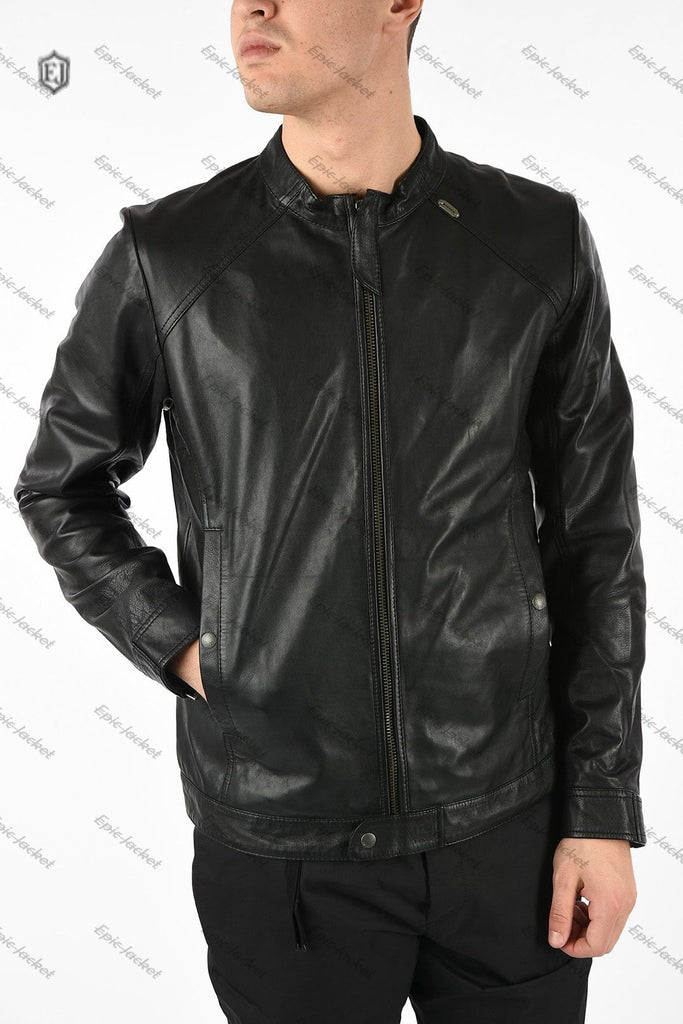 Epic Leather black Men Jacket
