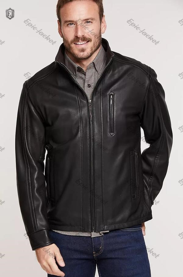 Epic South African Lambskin Men Leather Jacket