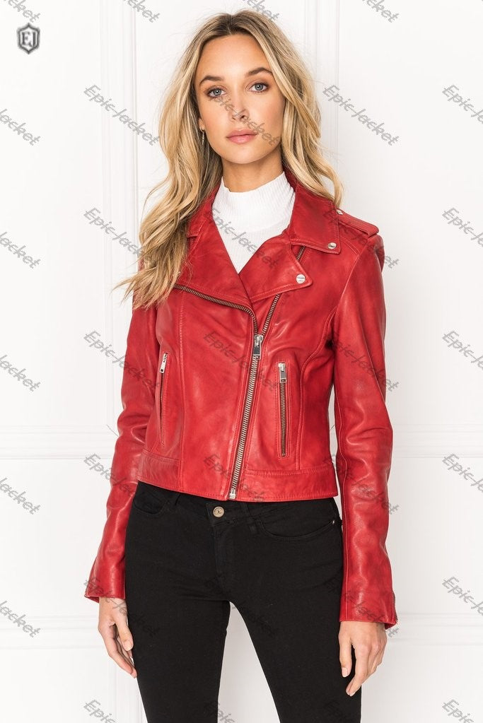 Epic Signature Leather Biker Jacket