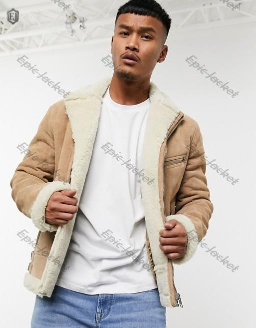 Epic Design Men Leather jacket in suede