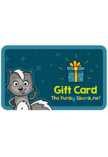 The Funky Skunk.net Gift Card