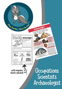 Occupations - Scientists Archaeologist