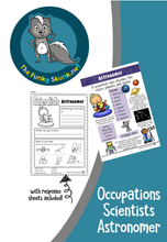 Load image into Gallery viewer, Occupations  -  Scientists Bundle 1