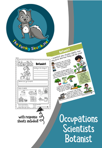 Occupations  -  Scientists Bundle 1