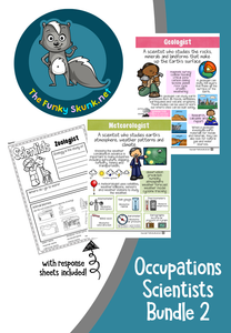 Occupations  -  Scientists Super Bundle