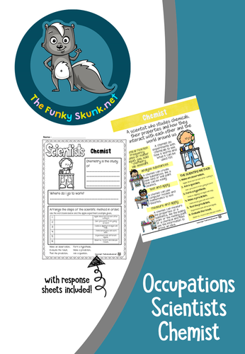 Occupations - Scientists Chemist