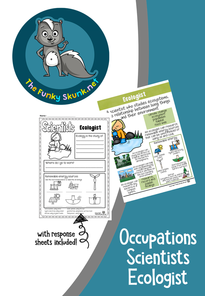 Occupations - Scientists Ecologist