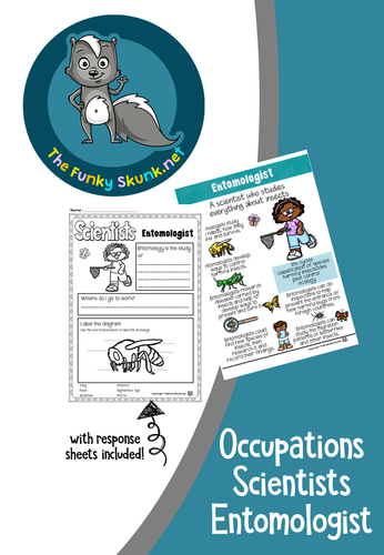 Occupations - Scientists Entomologist