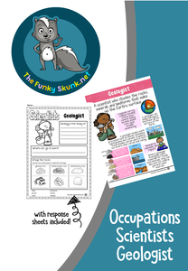 Occupations  -  Scientists Bundle 2