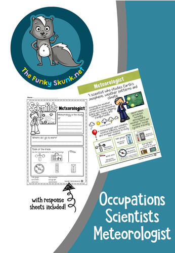 Occupations - Scientists Meteorologist