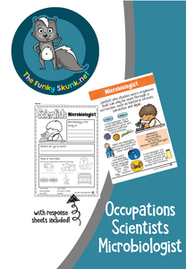 Occupations - Scientists Microbiologist