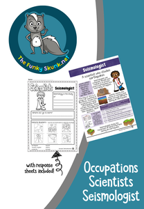 Occupations  -  Scientists Bundle 3