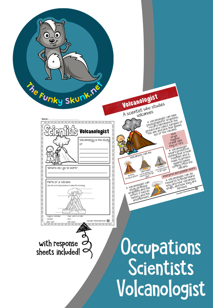 Occupations - Scientists Volcanologist
