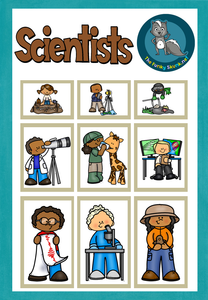Occupations - Scientists Free Cover Pages