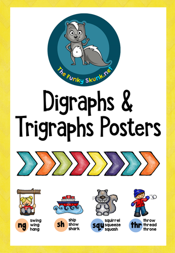 Phonics - Digraphs and Trigraphs