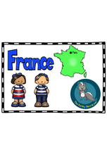 Load image into Gallery viewer, Europe - France Picture Book
