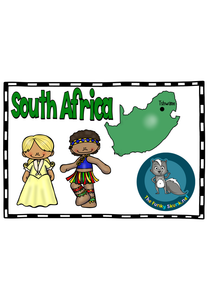 Africa - South Africa Picture Book