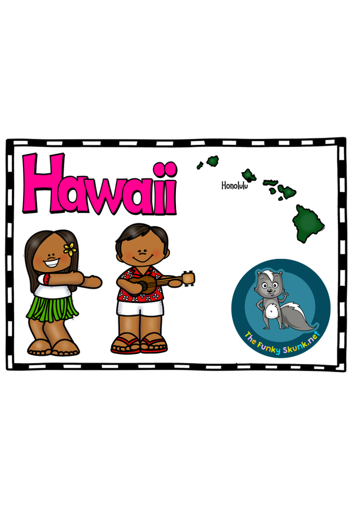 North America - Hawaii Picture Book