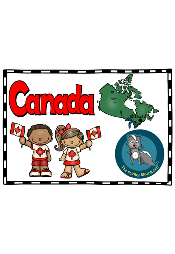 North America - Canada Picture Book