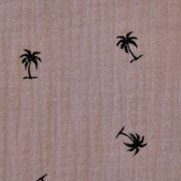 Palm Trees Pink Pochetmask