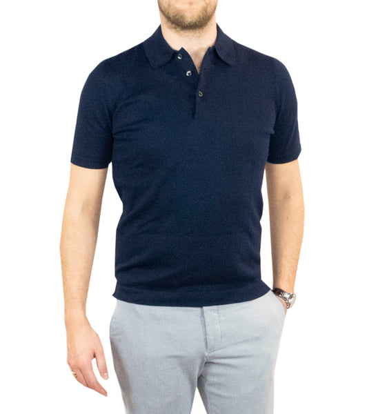 Sportive Polo Dark Navy