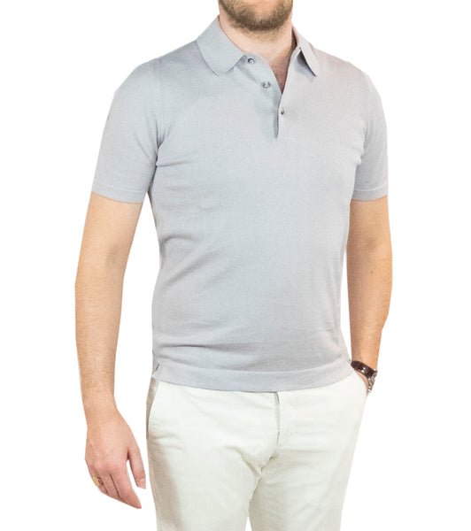 Sportive Polo Light Grey