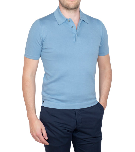 Sportive Polo Light Blue