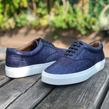 Sneaker Navy Leather