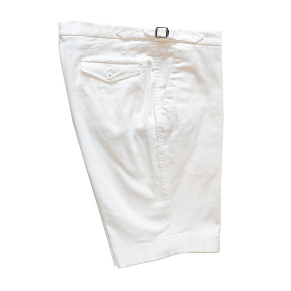Shorts White Denim