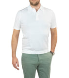 Trendy Stretch Polo White