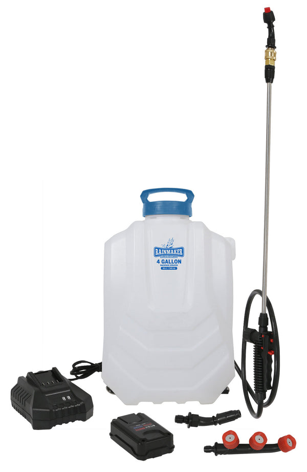 Rainmaker Battery Powered 18 Volt Lithium Ion Backpack Sprayer