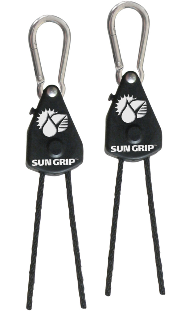 Sun Grip Original Light Hangers 1/8 in - Black