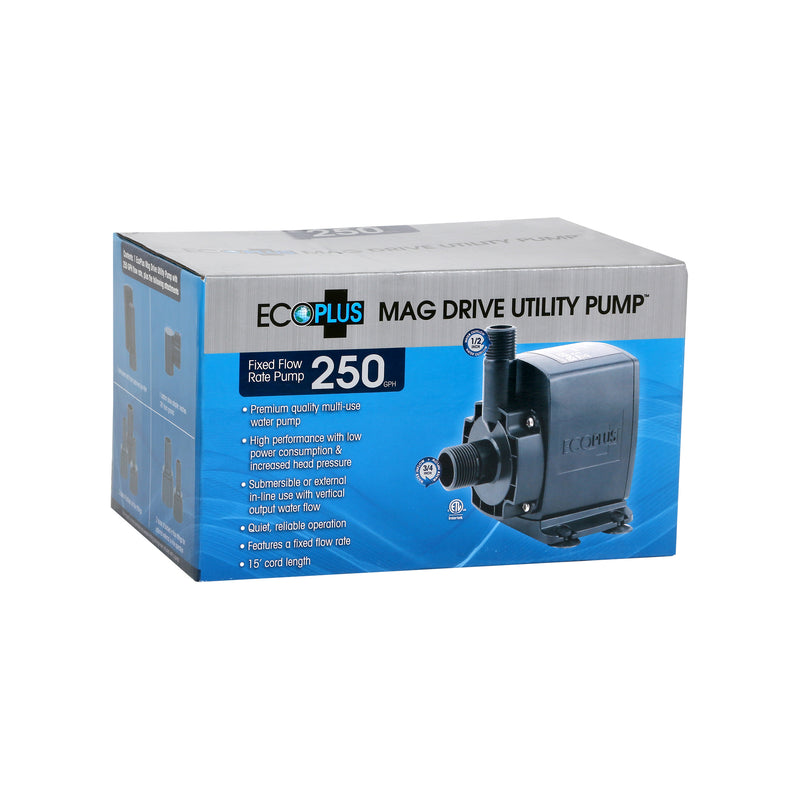 EcoPlus Mag Drive Utility Pump - Submersible or Inline