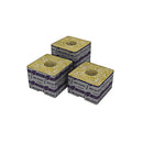 Grodan Delta 8 - 4 in Block 4 in x 4 in x 3 in w/ Hole - Case of 30
