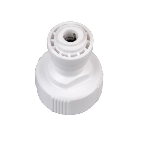 Hydro-logic QC Fitting - 1/4 in Garden Hose Connector