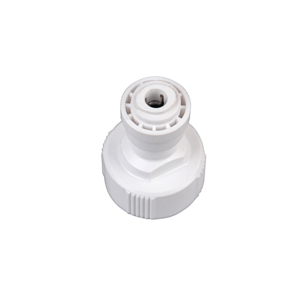Hydro-logic QC Fitting - 3/8 in Garden Hose Connector