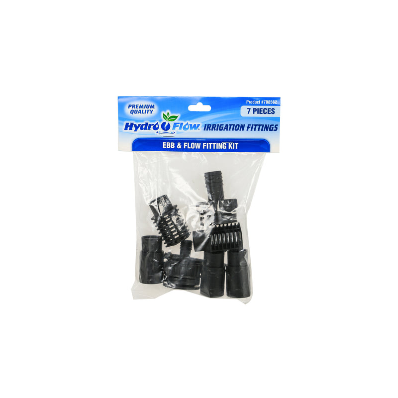 Hydro Flow Ebb & Flow Fitting Kit