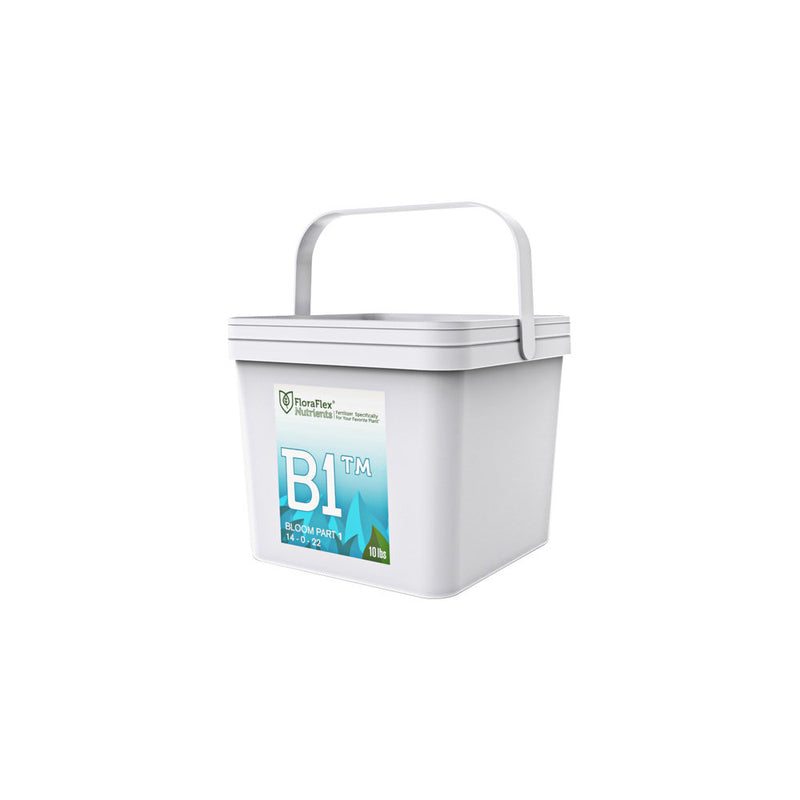 FloraFlex Nutrients Bloom B1 14 - 0 - 22 and B2 0 - 28 - 18