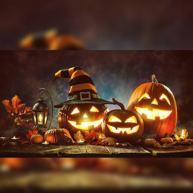 Factory Outlet Halloween Sound-Activated Pumpkins with Built-In Speaker