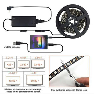 【⏳50% OFF Today】DIY Ambilight TV PC Dream Screen USB LED Strip