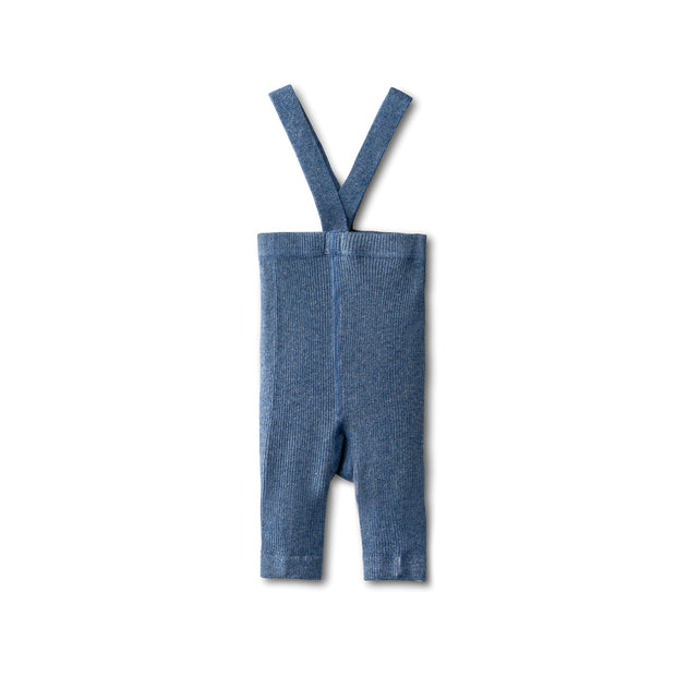 All day comfy leggings in chambray-short 1