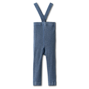 All day comfy leggings in chambray-long