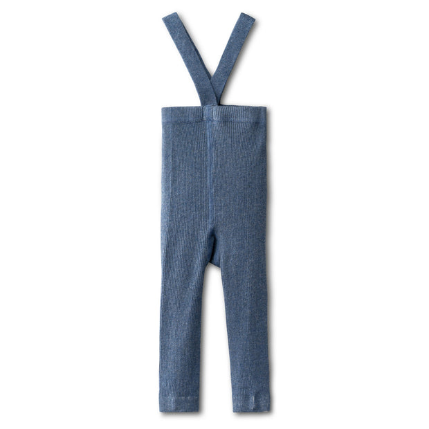 All day comfy leggings in chambray-long 1