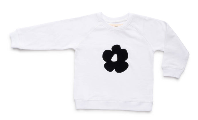 Black flower sweat
