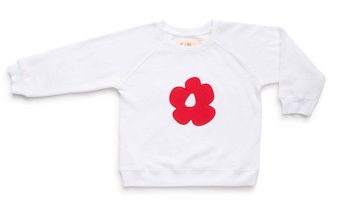 Red flower sweat