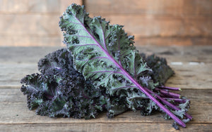 Curly Kale (red & green)