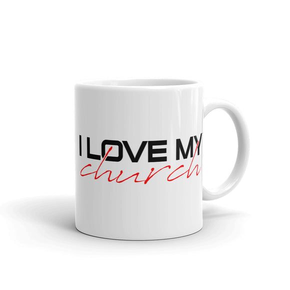 I LOVE MY CHURCH Mug