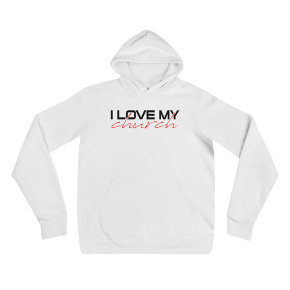 I LOVE MY CHURCH Unisex hoodie