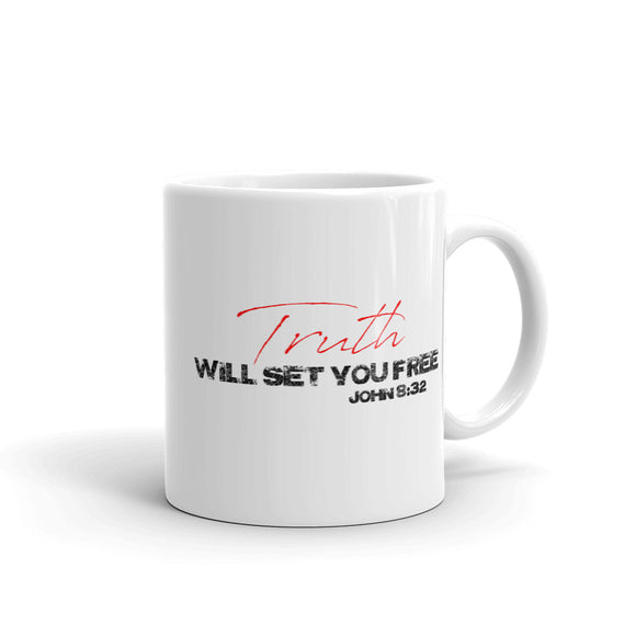 TRUTH WILL SET YOU FREE Mug